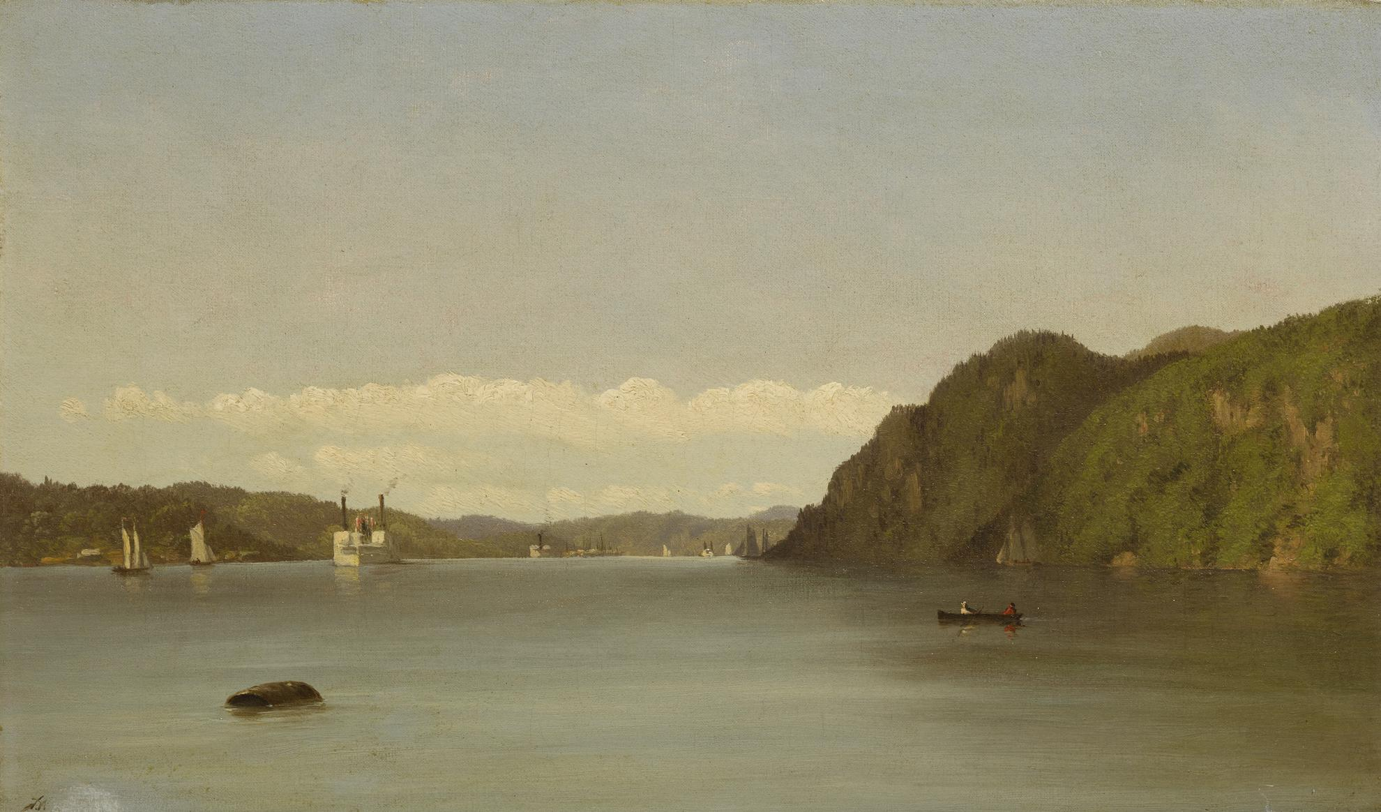 John Williamson - Hudson River Landscape-