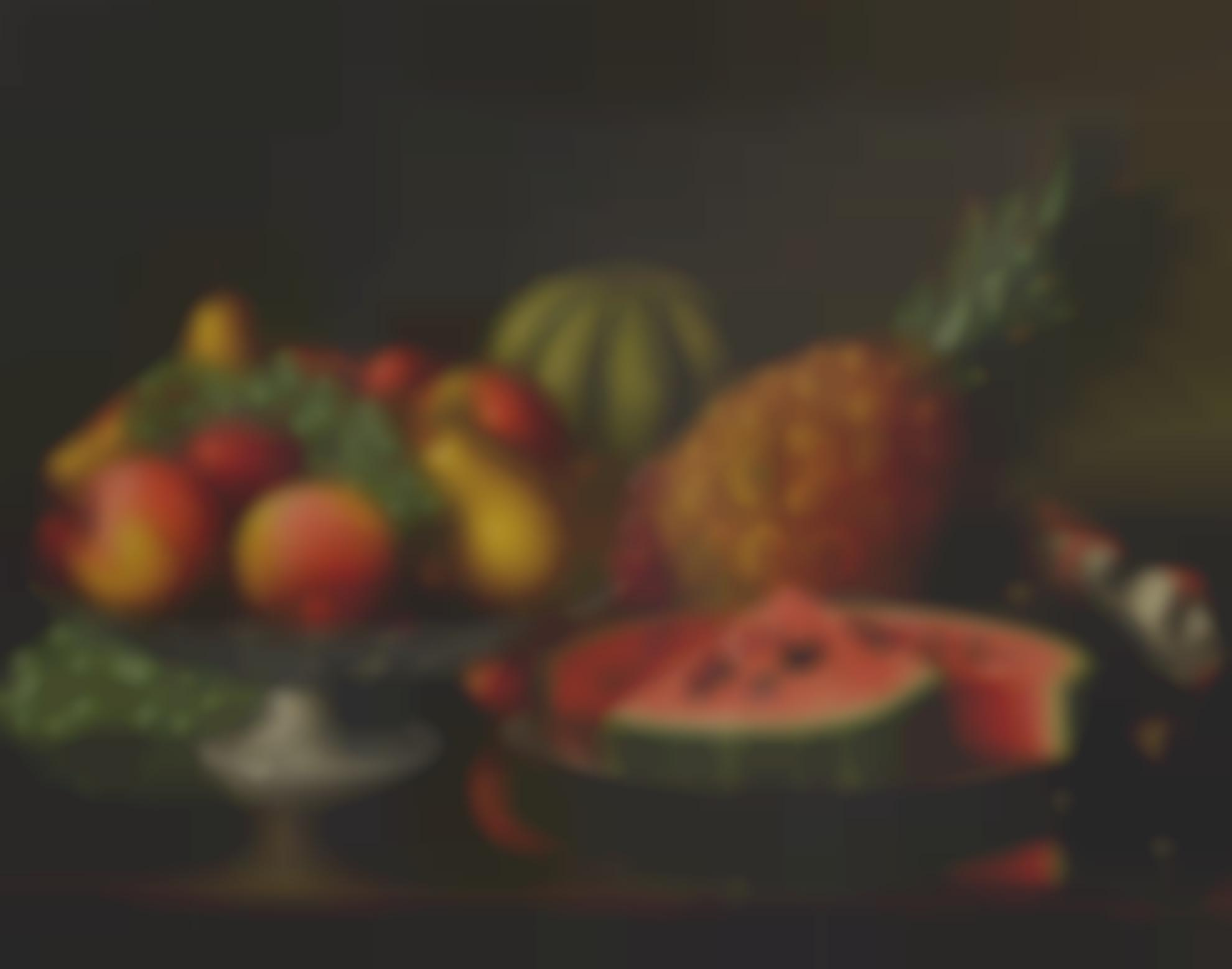 Levi Wells Prentice - Still Life With Fruit-