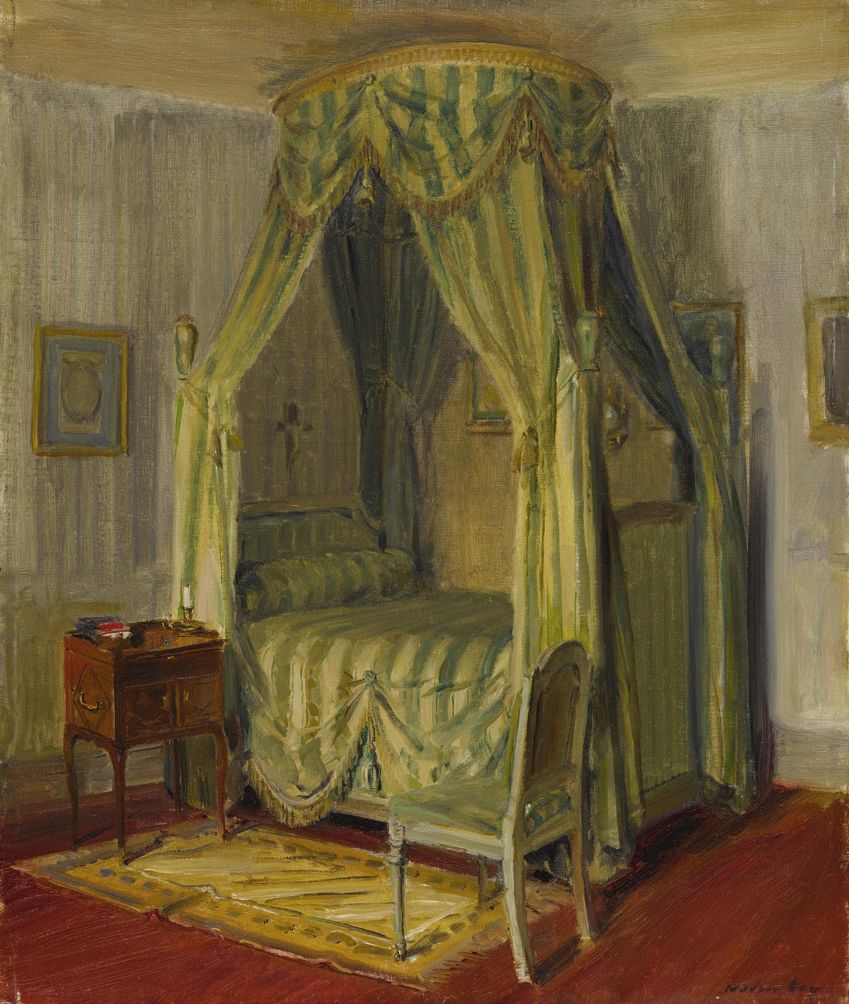Walter Gay - Bedroom Interior-