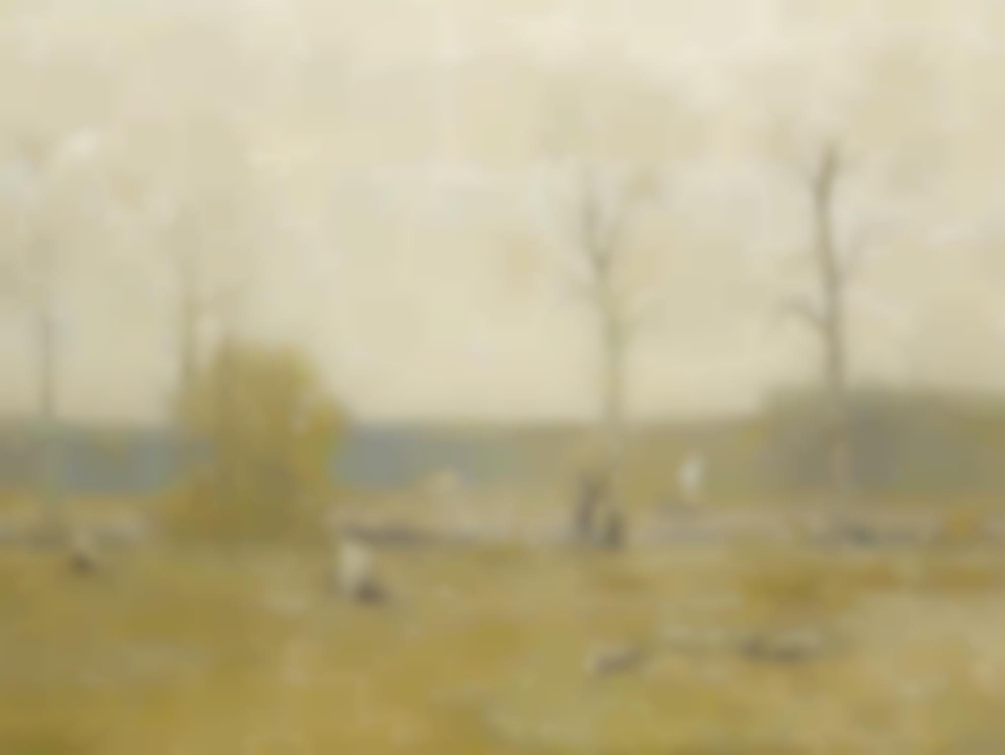 Bruce Crane - Grey Fields-