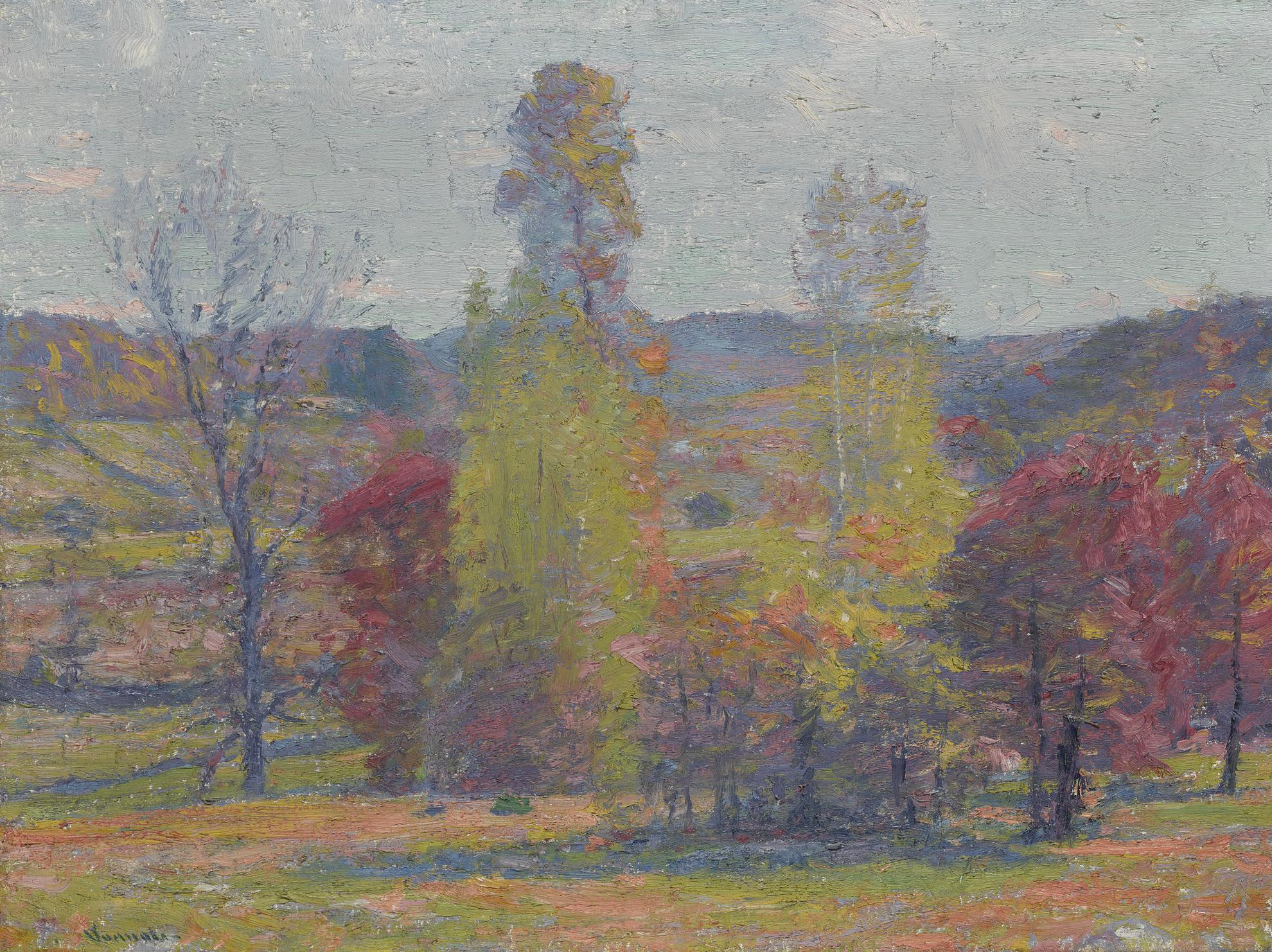 Robert William Vonnoh - Fecund Autumn-