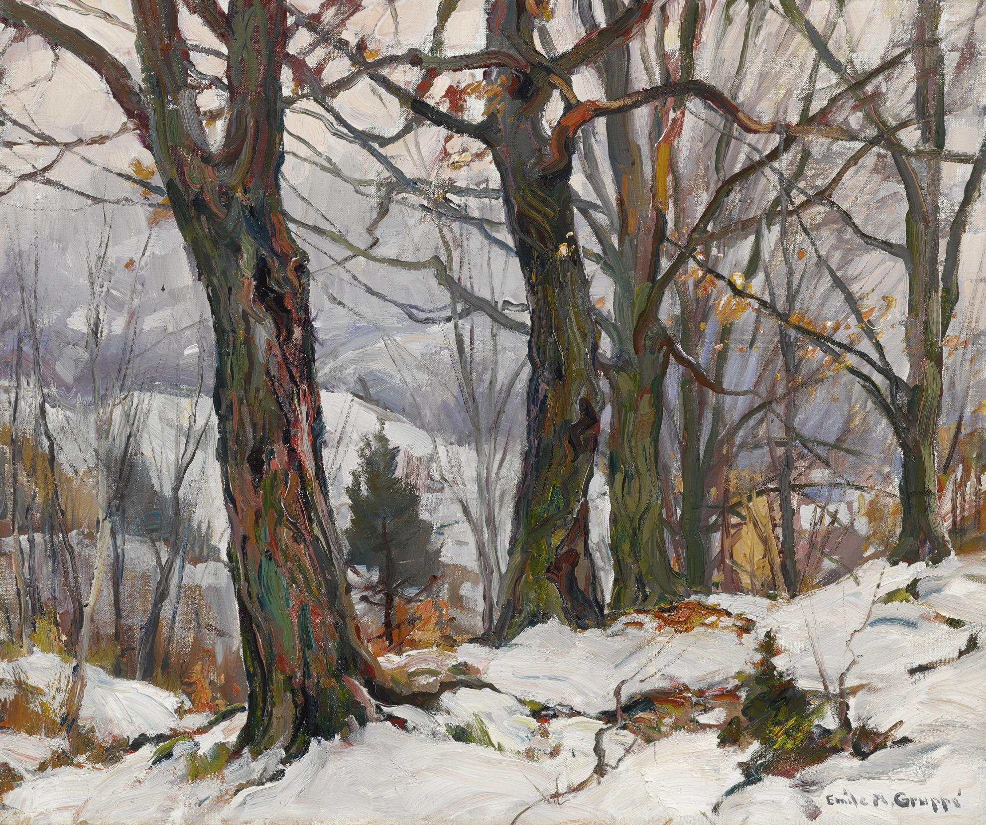 Emile Albert Gruppe - First Snow, Vt-
