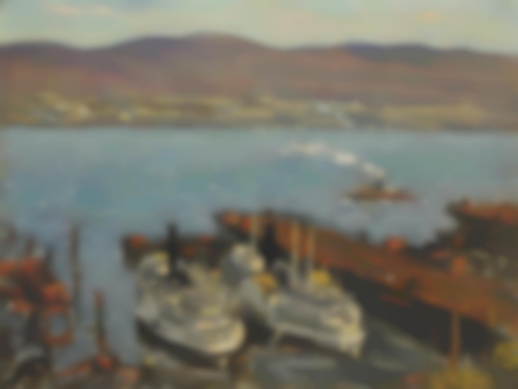 Clarence K. Chatterton - Hudson River Boats-