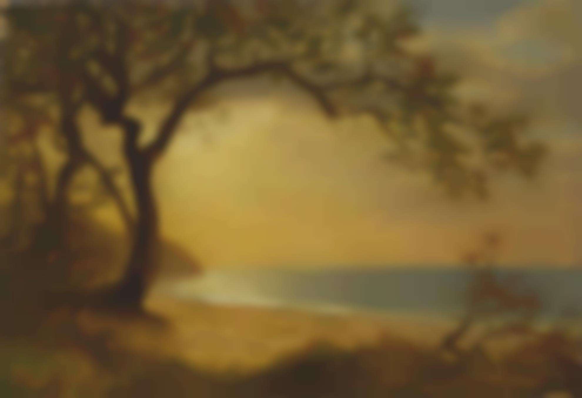 Albert Bierstadt - California Coast-