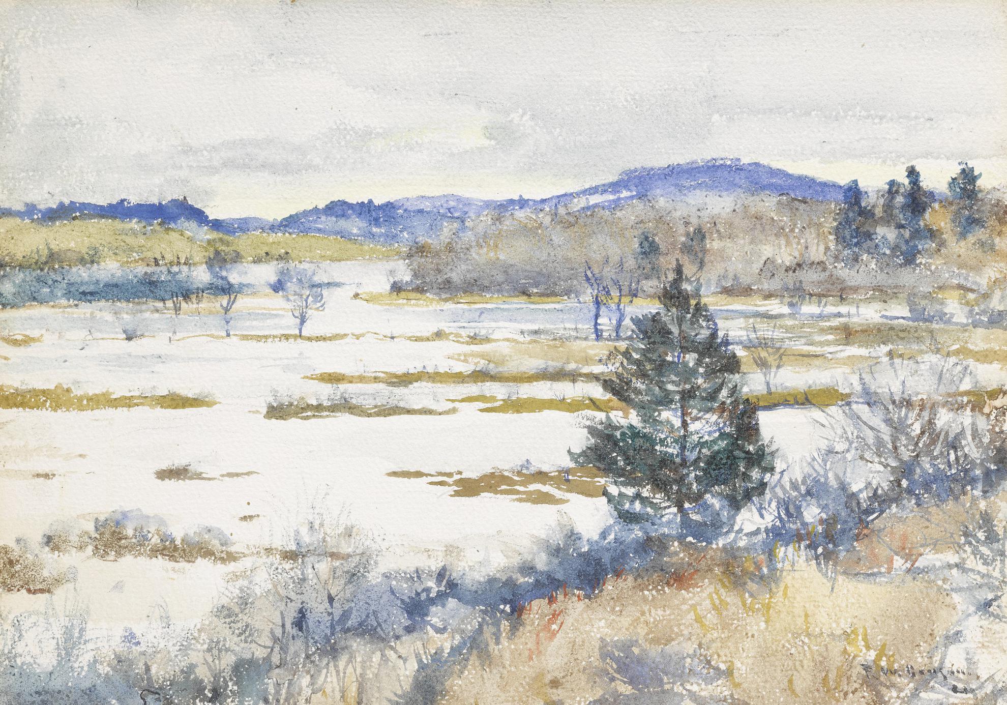 Frank Weston Benson - Upper St. Marguerite-1922