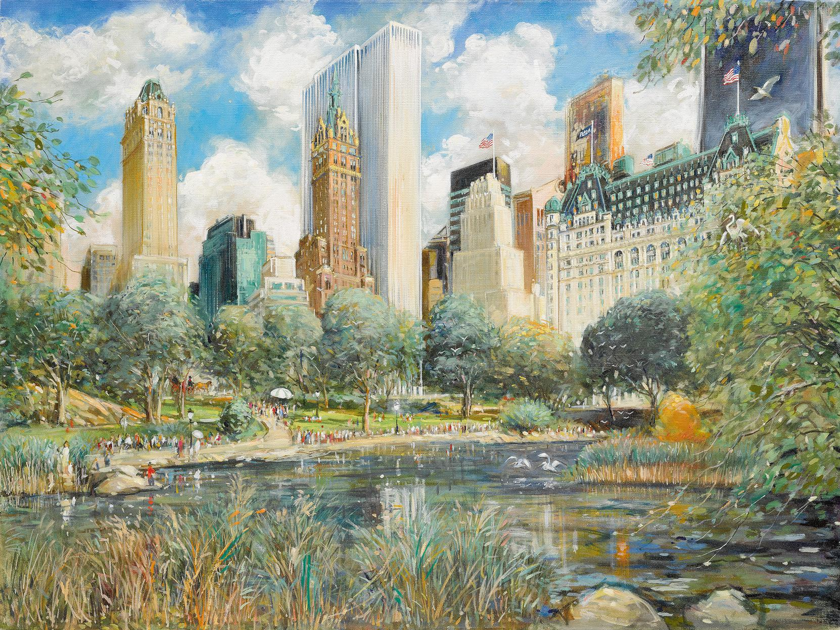 Kamil Kubik - Central Park South-