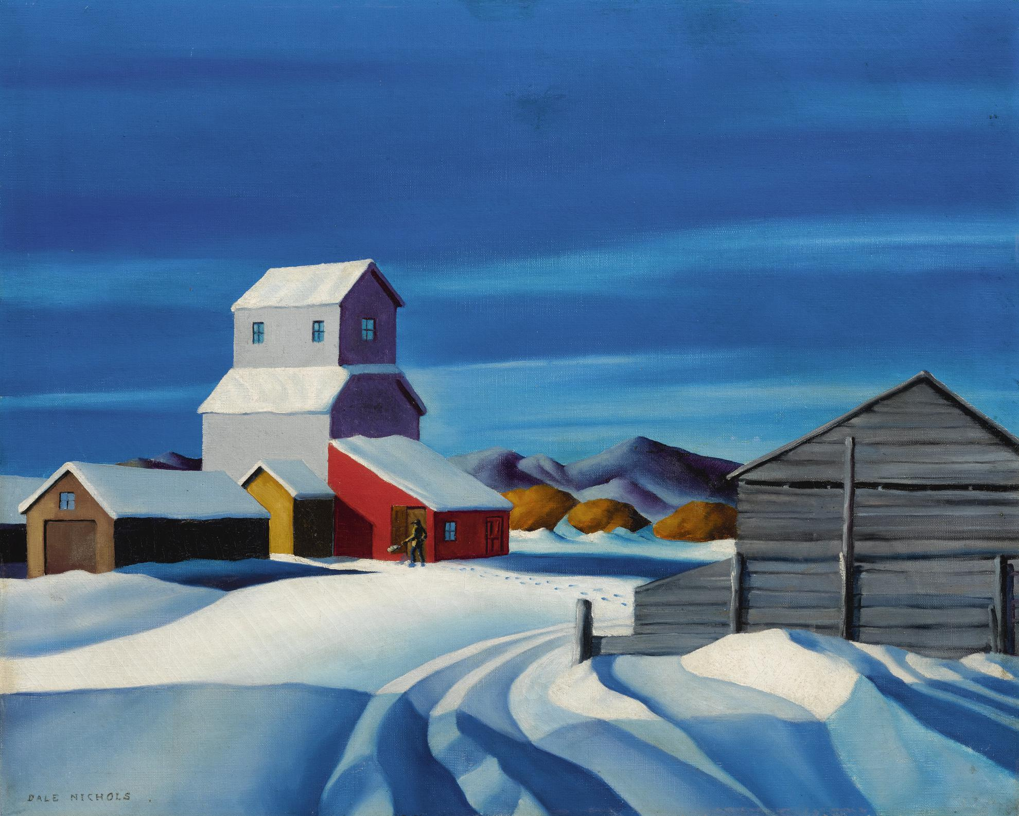 Dale William Nichols - Footsteps In The Snow-