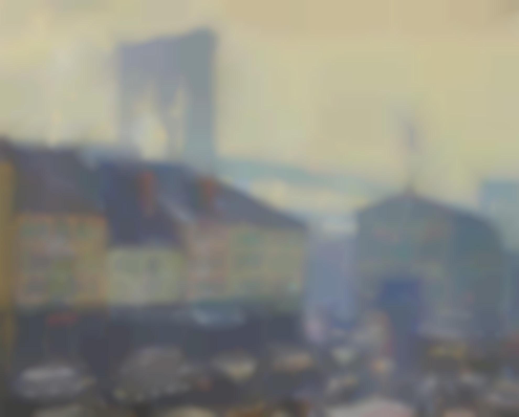 Frederik Usher Devoll - Near The Brooklyn Bridge-