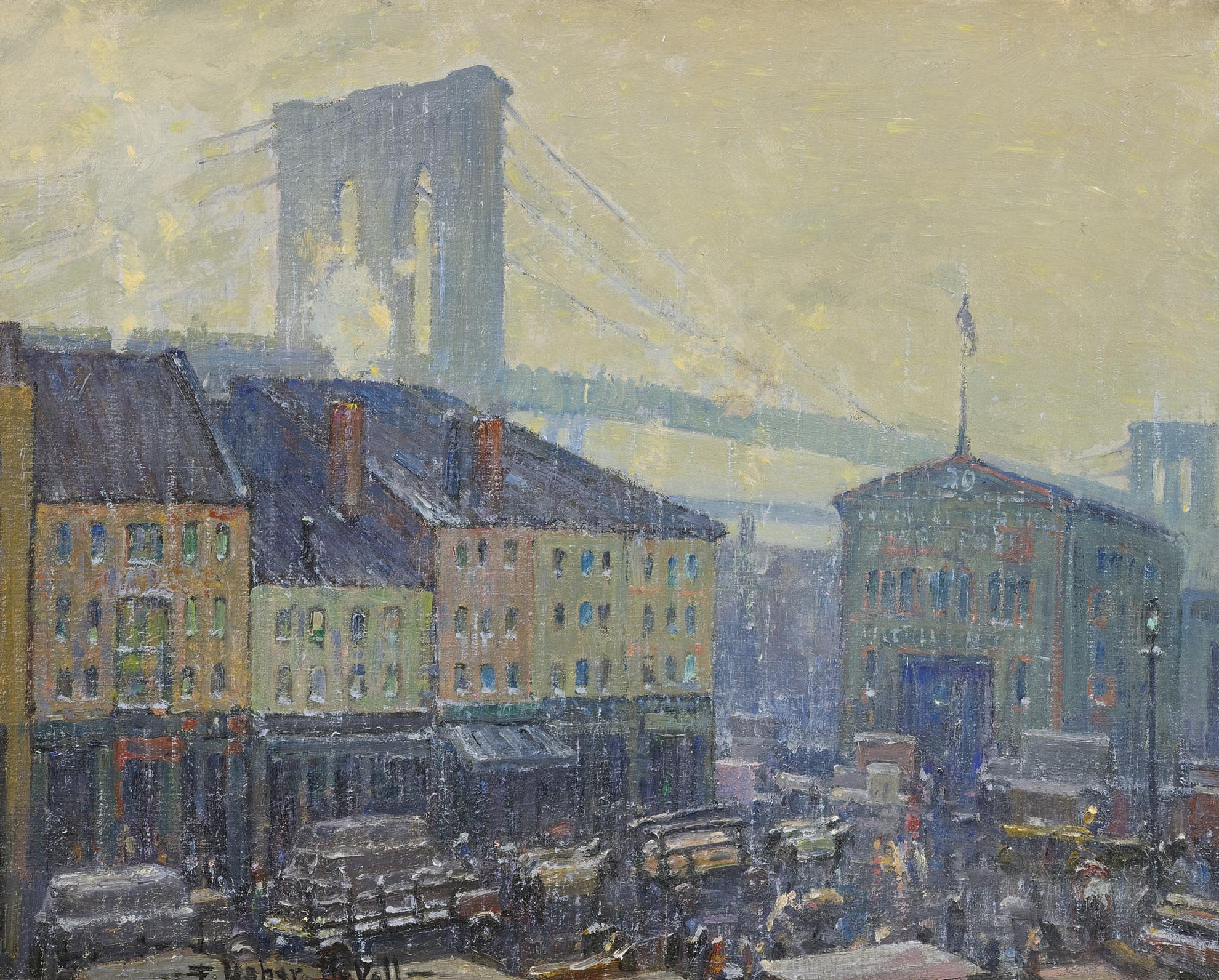 Frederik Usher Devoll - Near The Brooklyn Bridge-