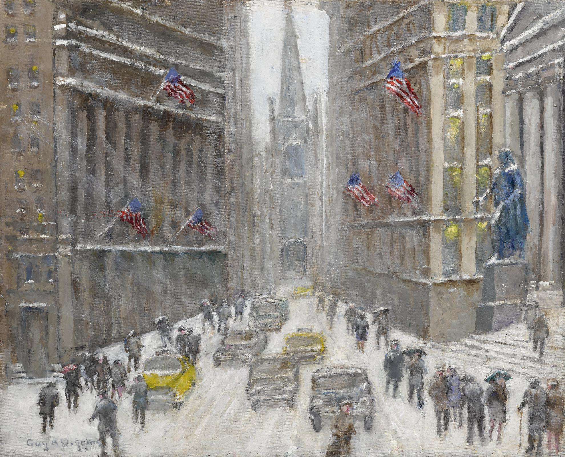 Guy Arthur Wiggins - Rough Weather On Wall Street-