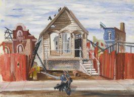 Aaron Bohrod - Abandonment-1963
