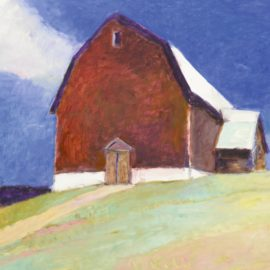 Wolf Kahn-Gambrel Barn-2003