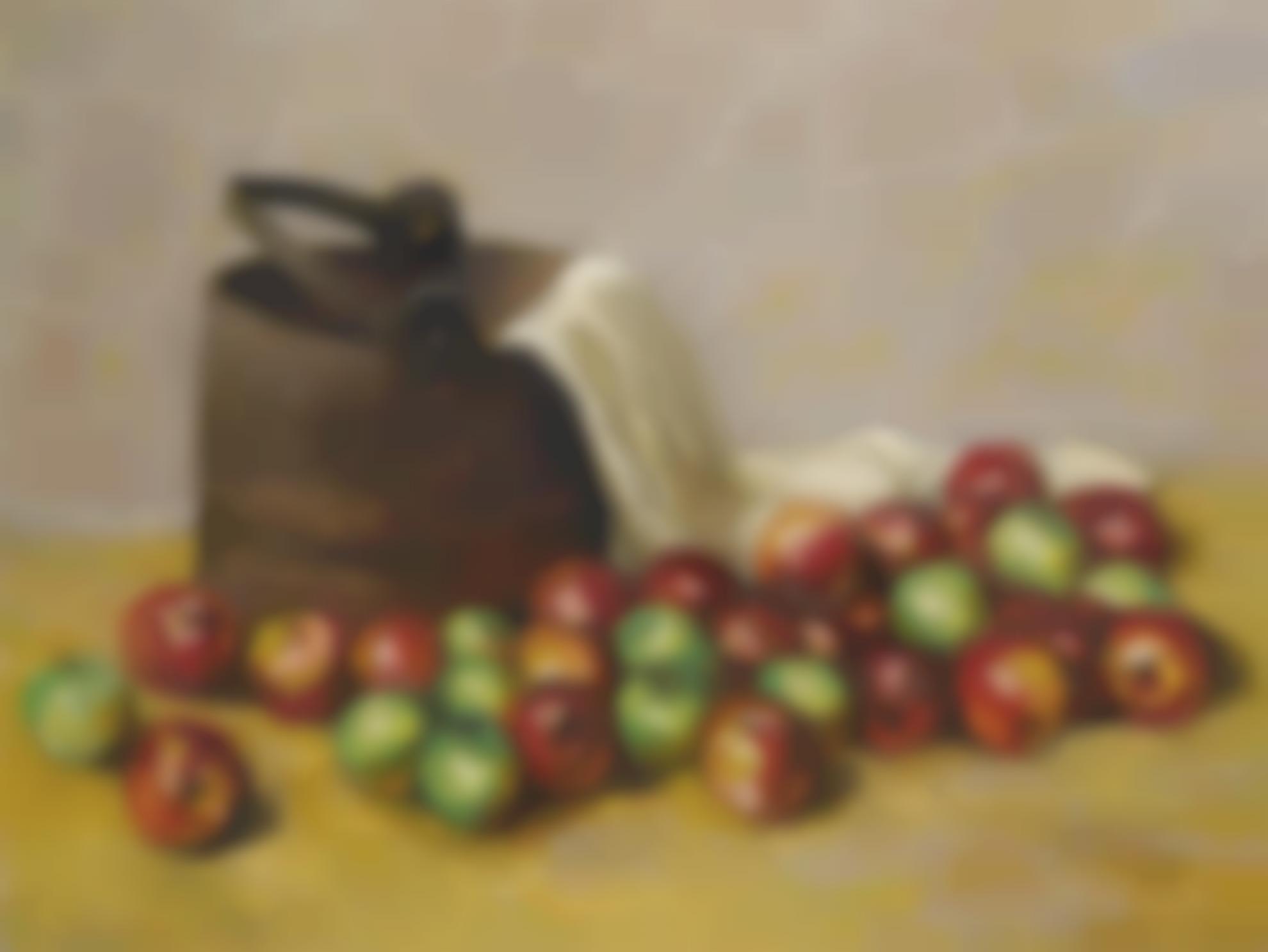 Walt Kuhn-Sap Bucket And Apples-1947