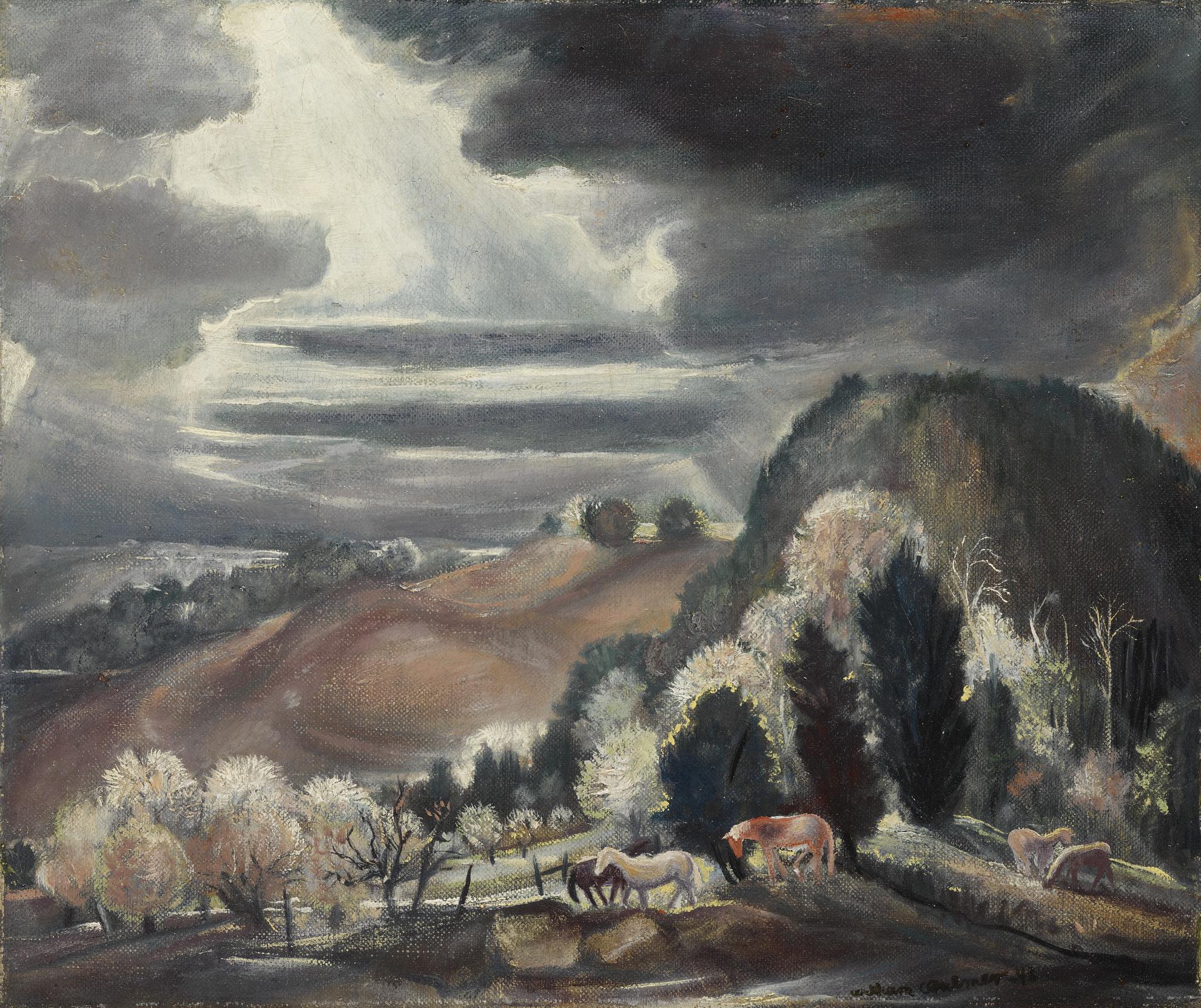 William Charles Palmer - Moon Night-1943