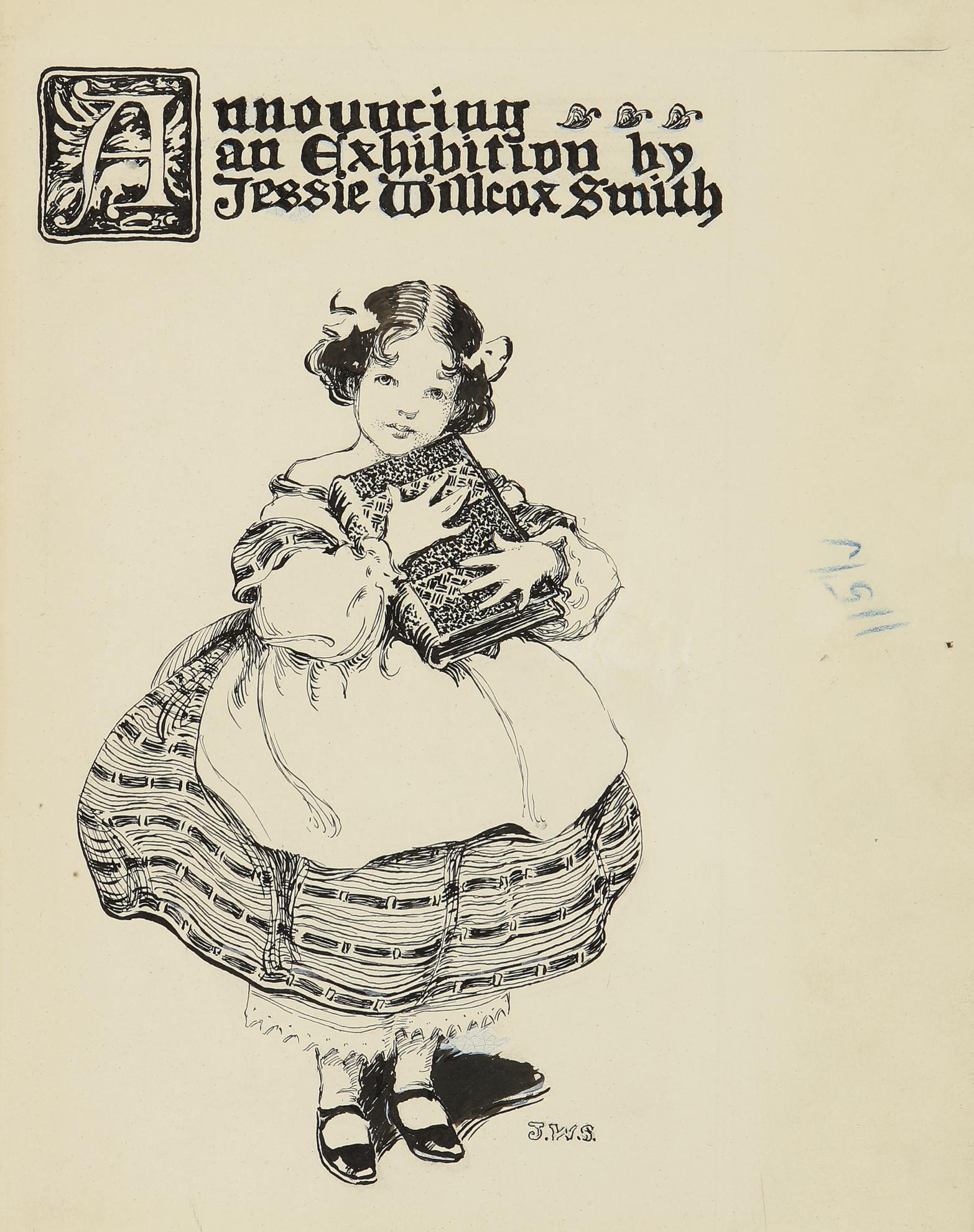 Jessie Willcox Smith-Exhibition Announcement-