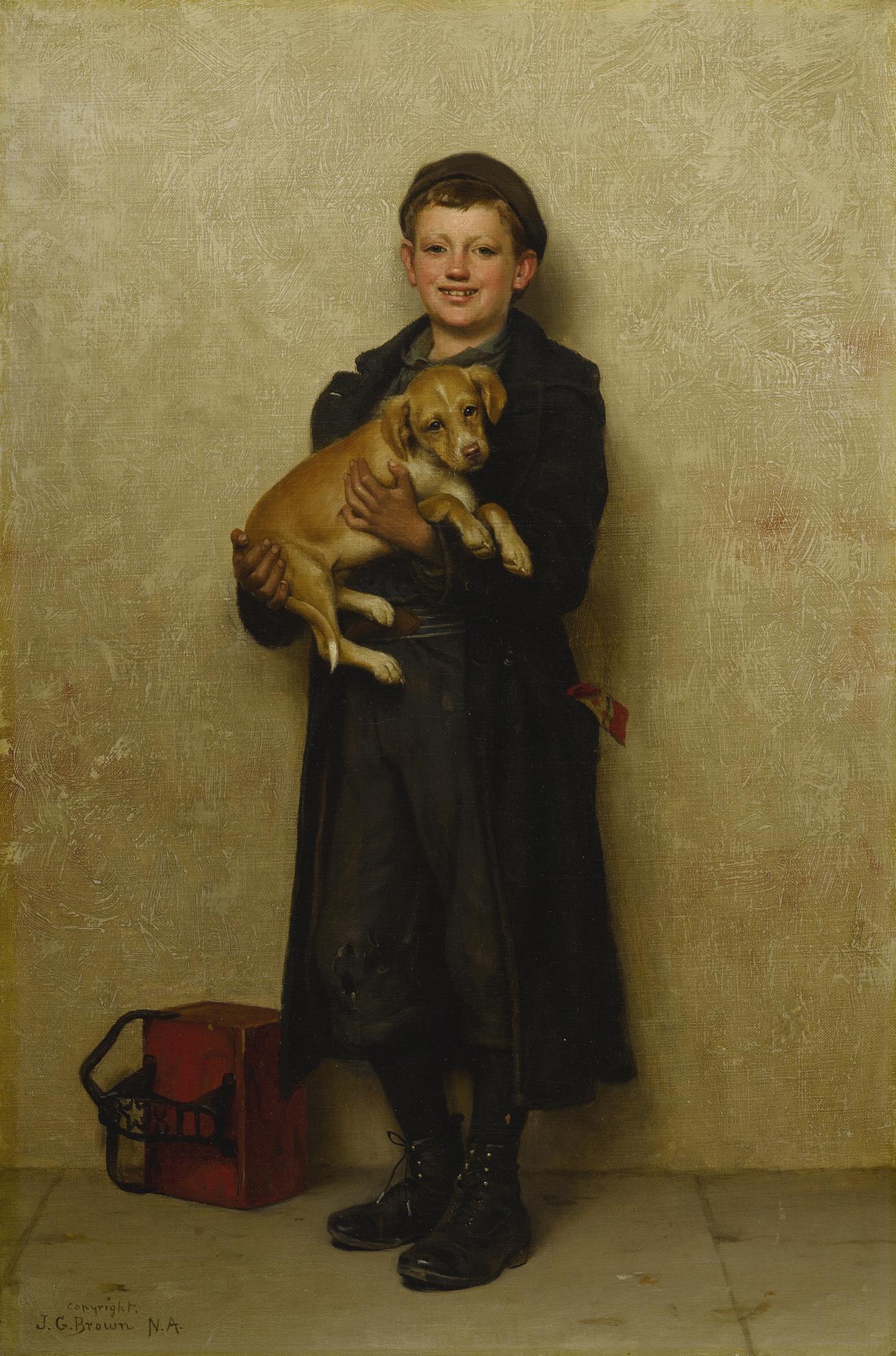 John George Brown - Buy A Dog-1905