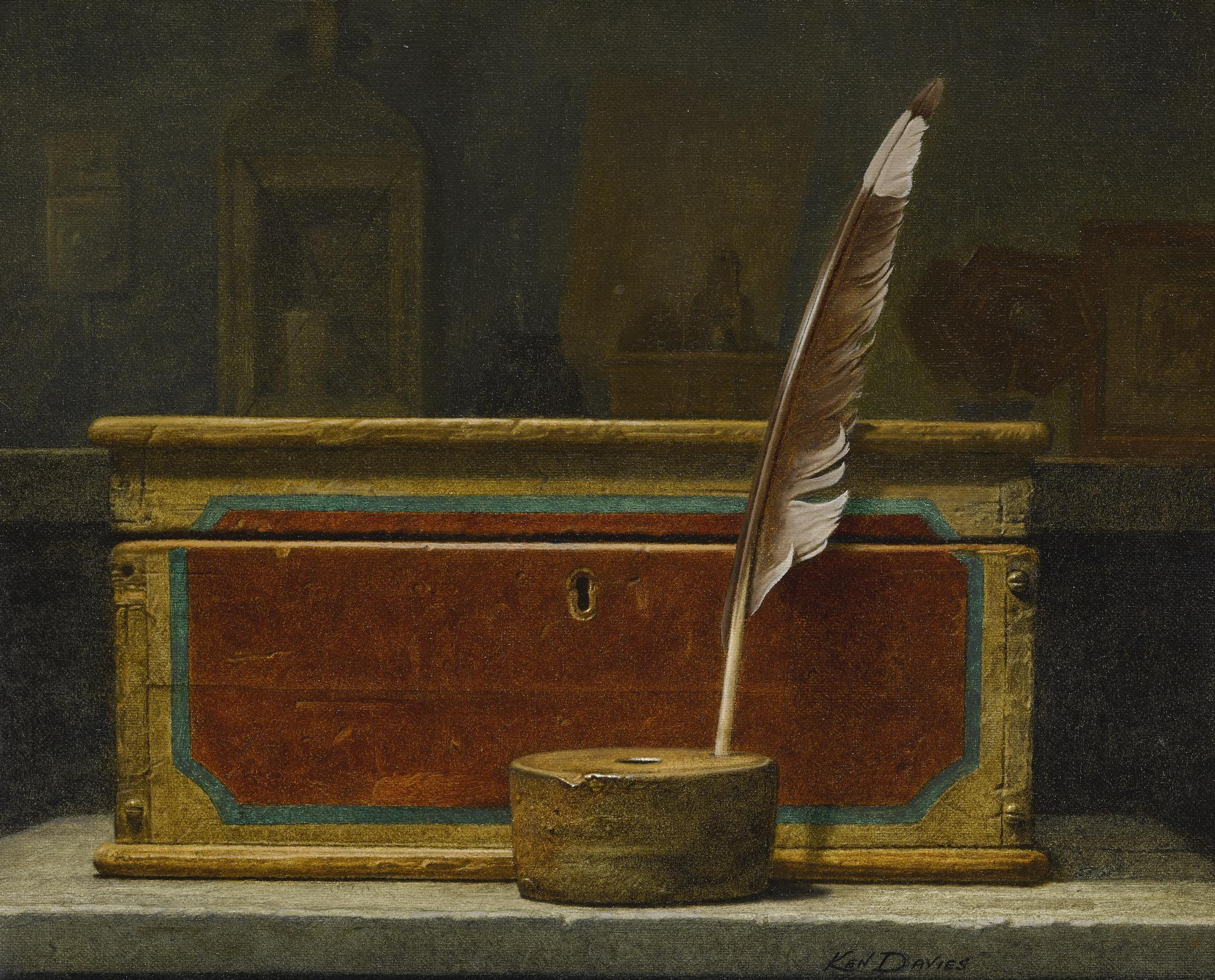 Kenneth Southworth Davies - Quill Box-2004
