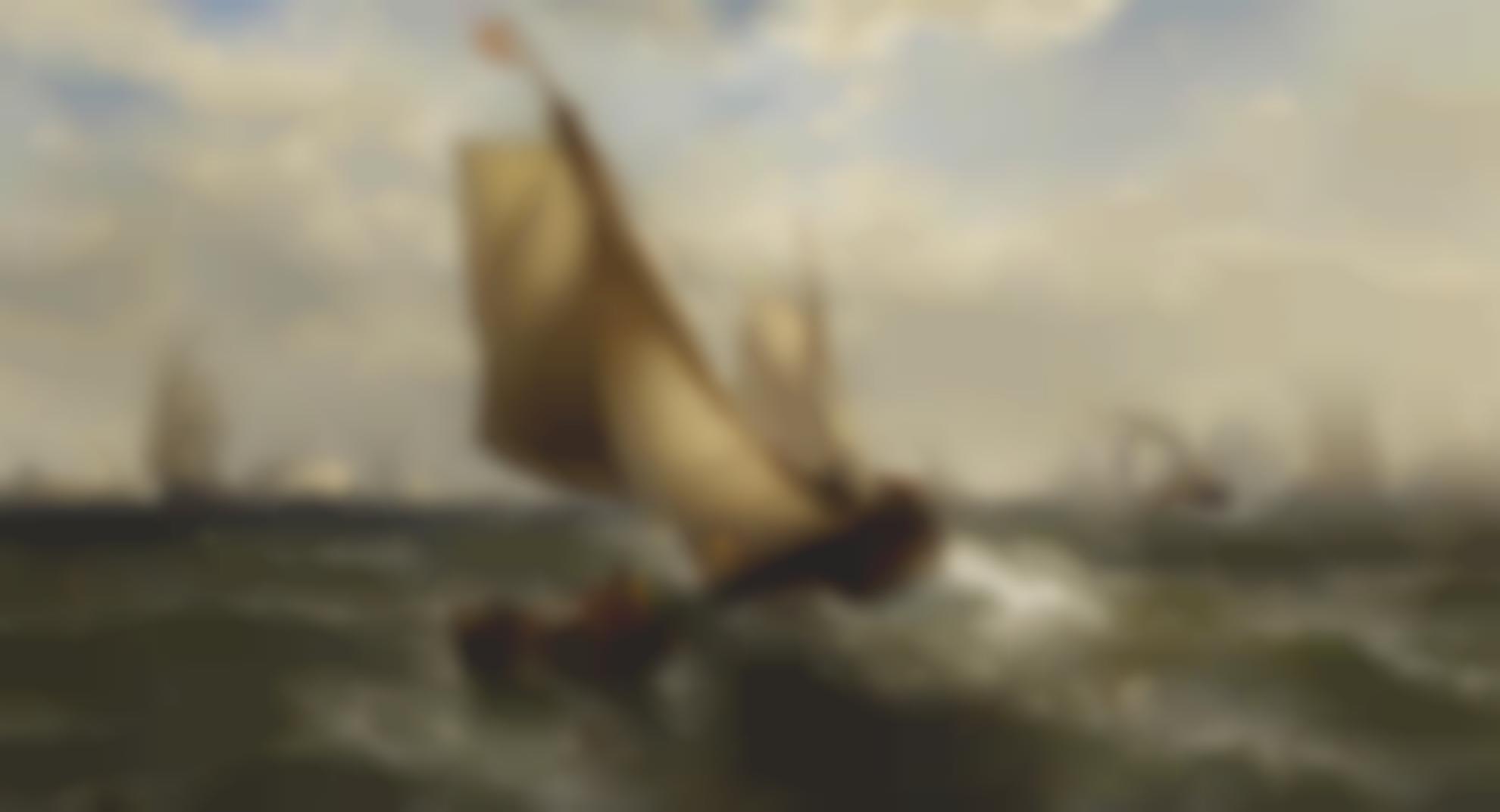 Edward Moran - New York Bay-1881