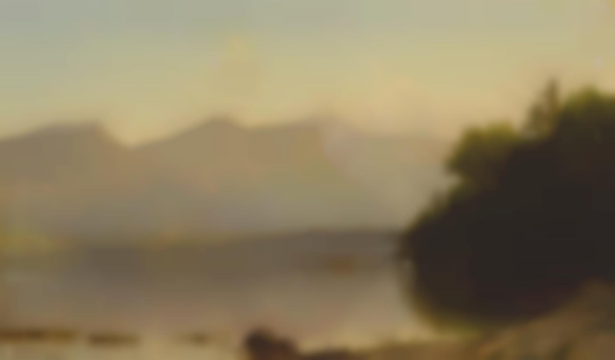 Alfred Thompson Bricher - Lake George-1863