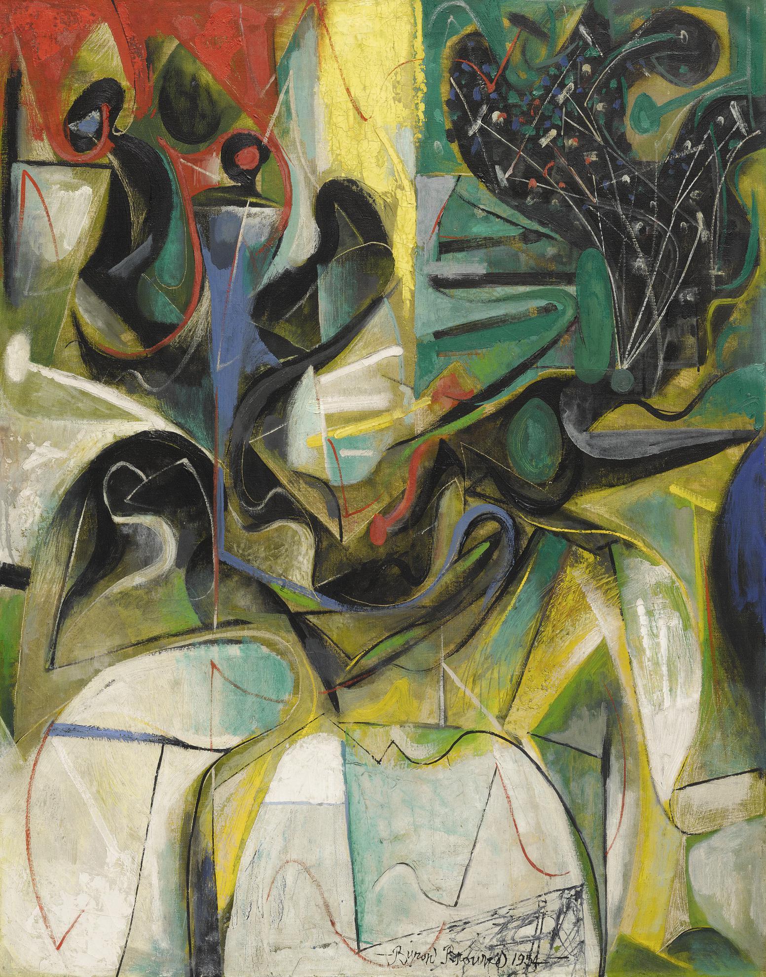 Byron Browne - Still-Life-1954