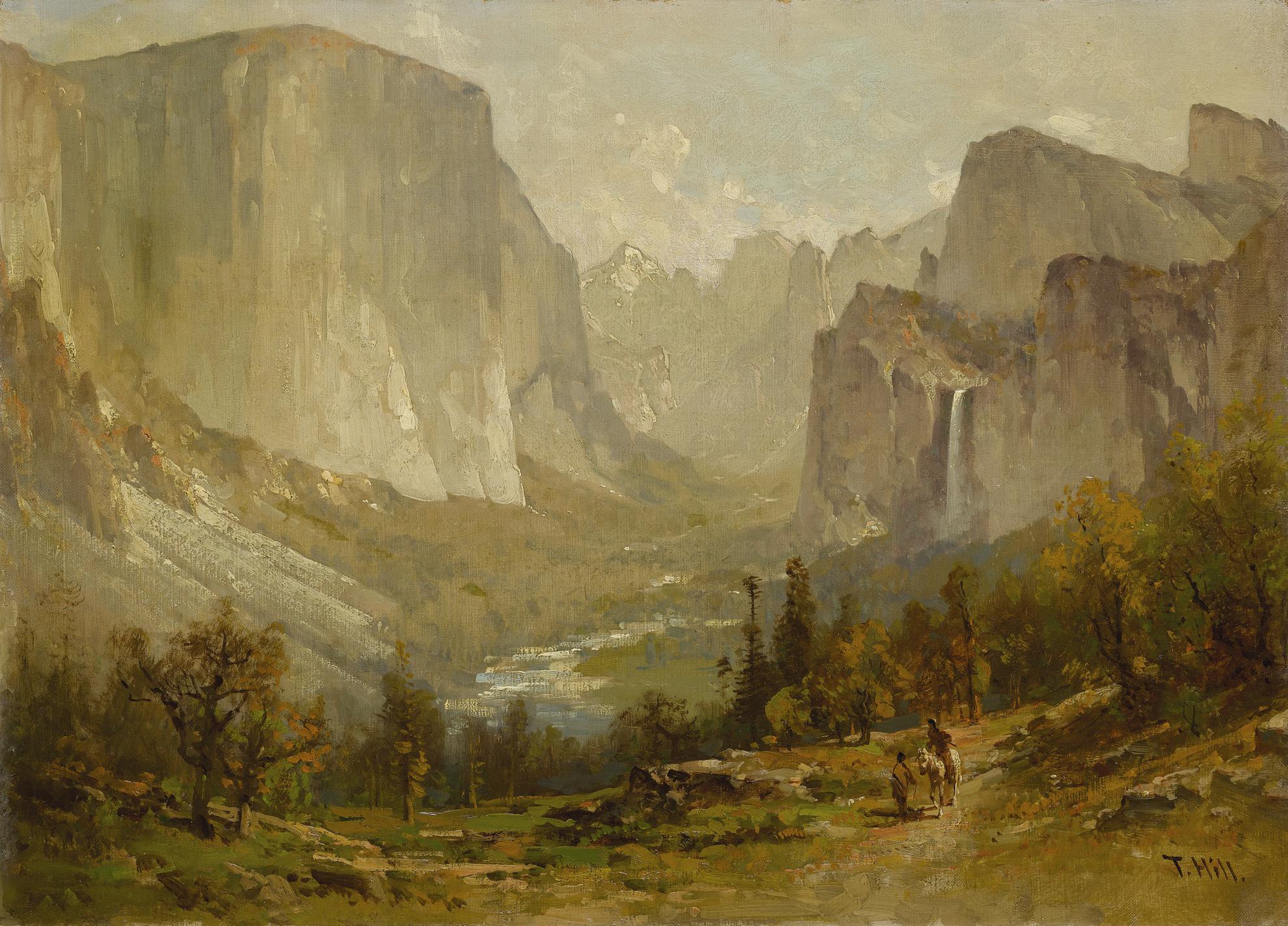 Thomas Hill - Yosemite Valley-