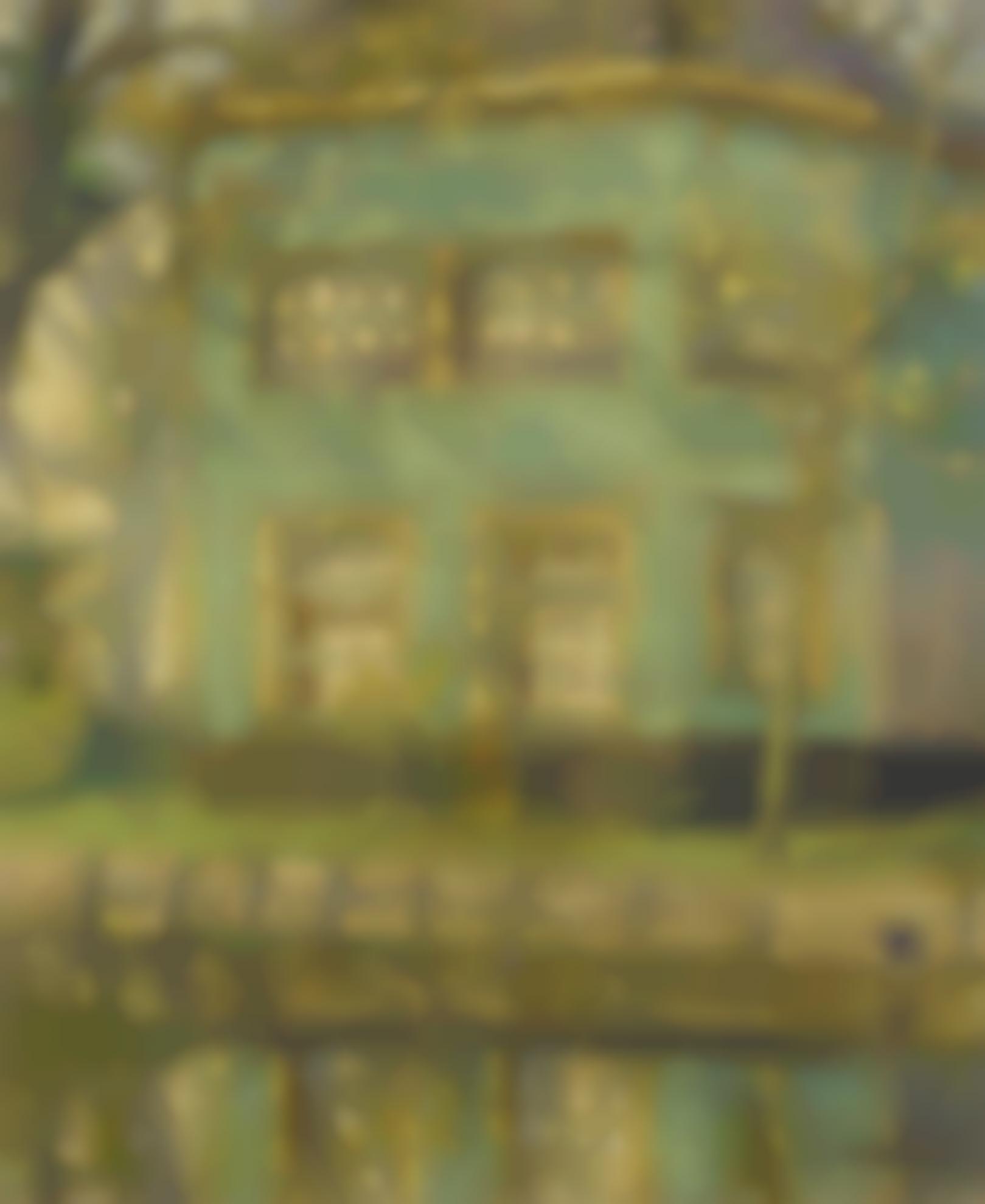 Gari Melchers - The Little Green House-1915