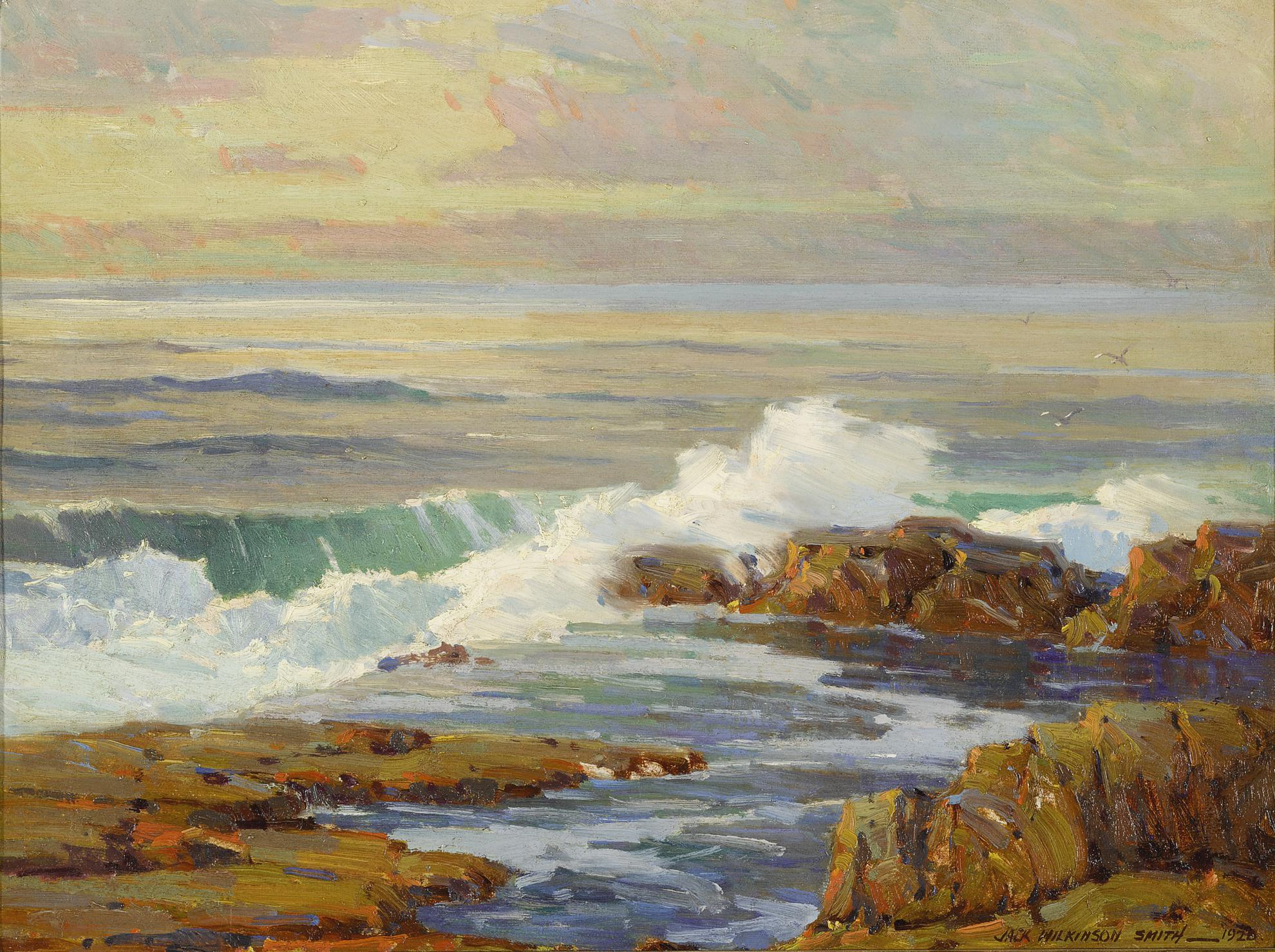 Jack Wilkinson Smith - The Drenched Rocks-1928