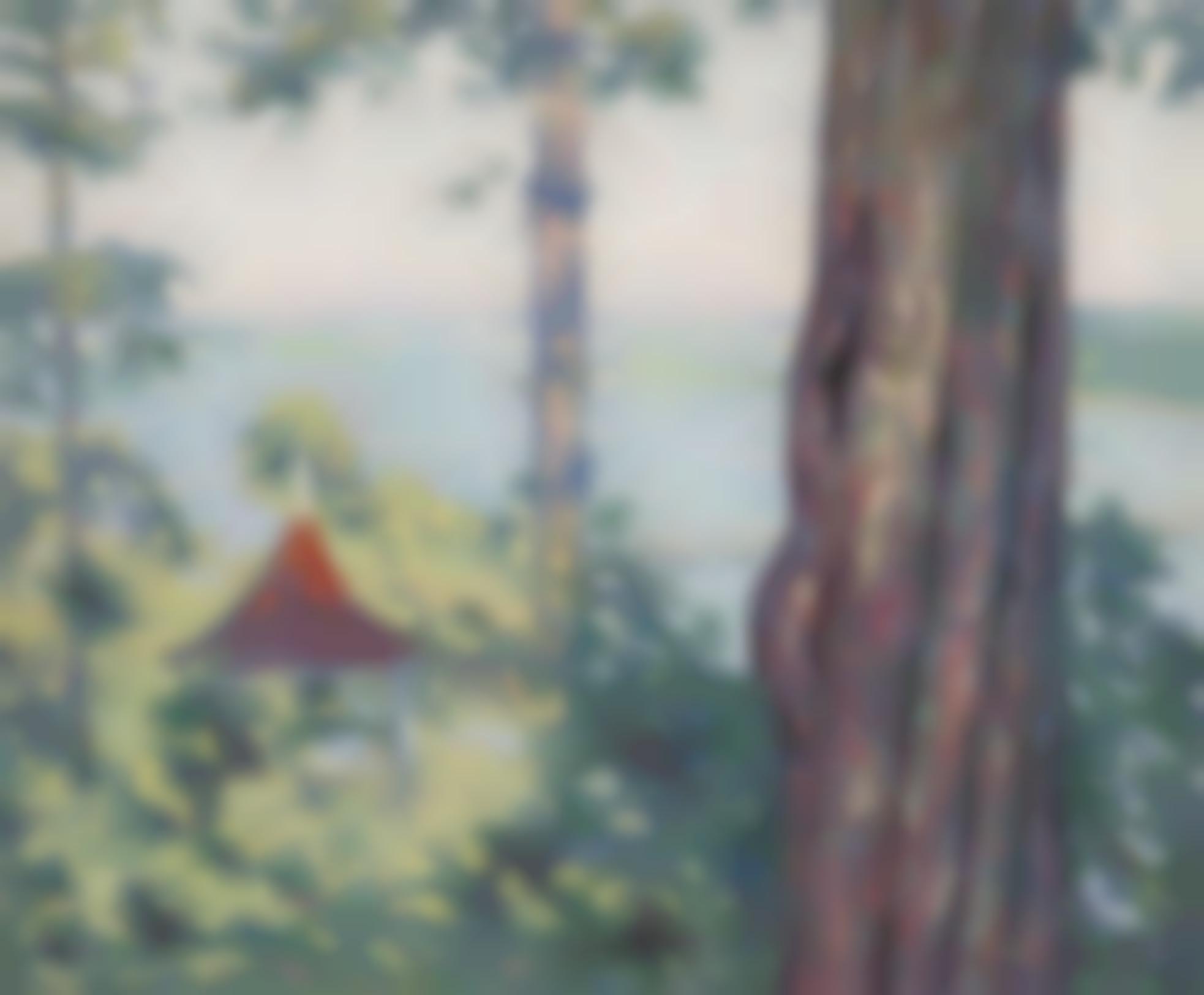 Allen Tucker - The Little Pagoda-1911