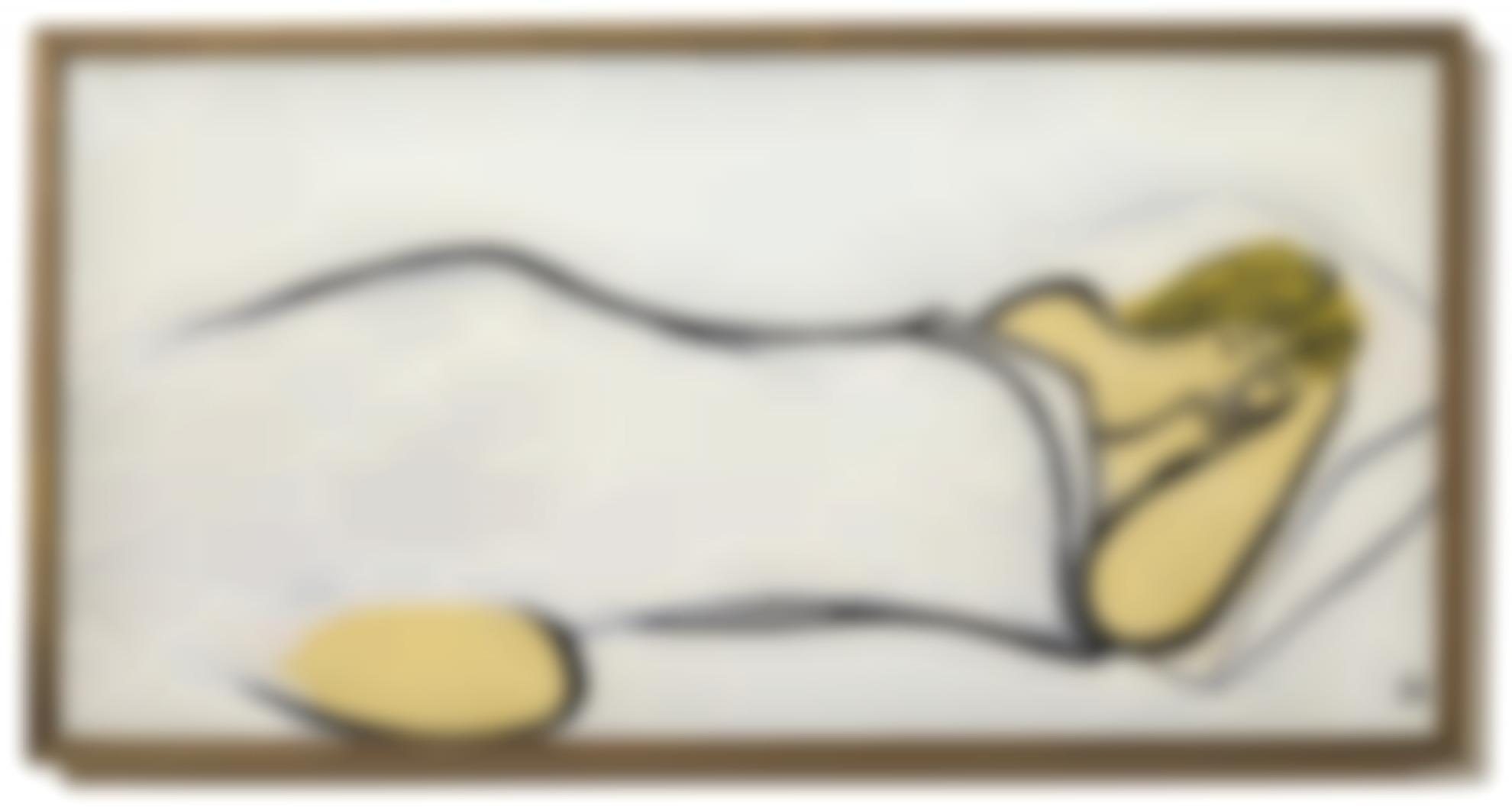 Sanyu-Nu Endormi-1950