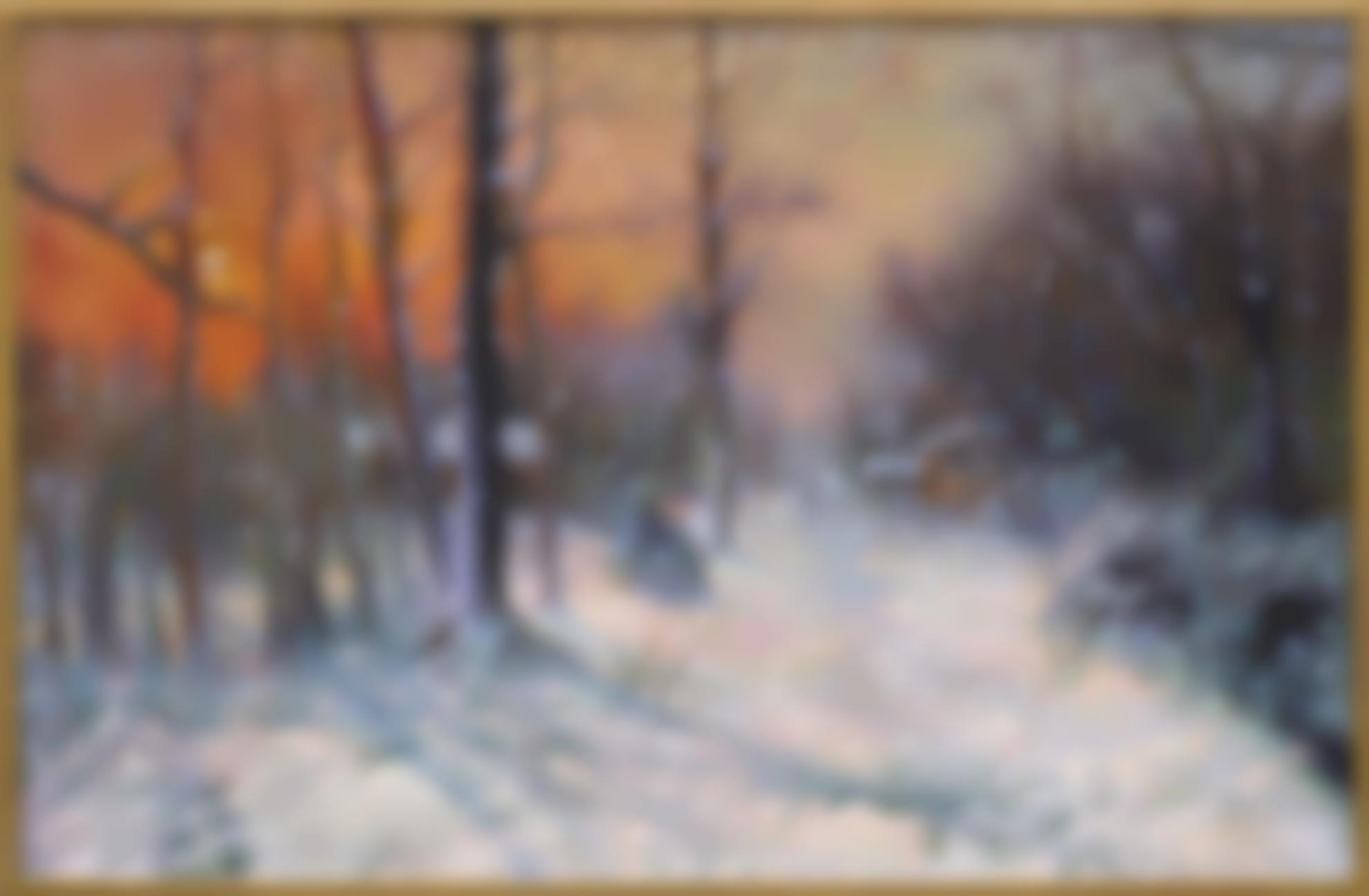 Yan Wenliang-Winter Sunset-1947