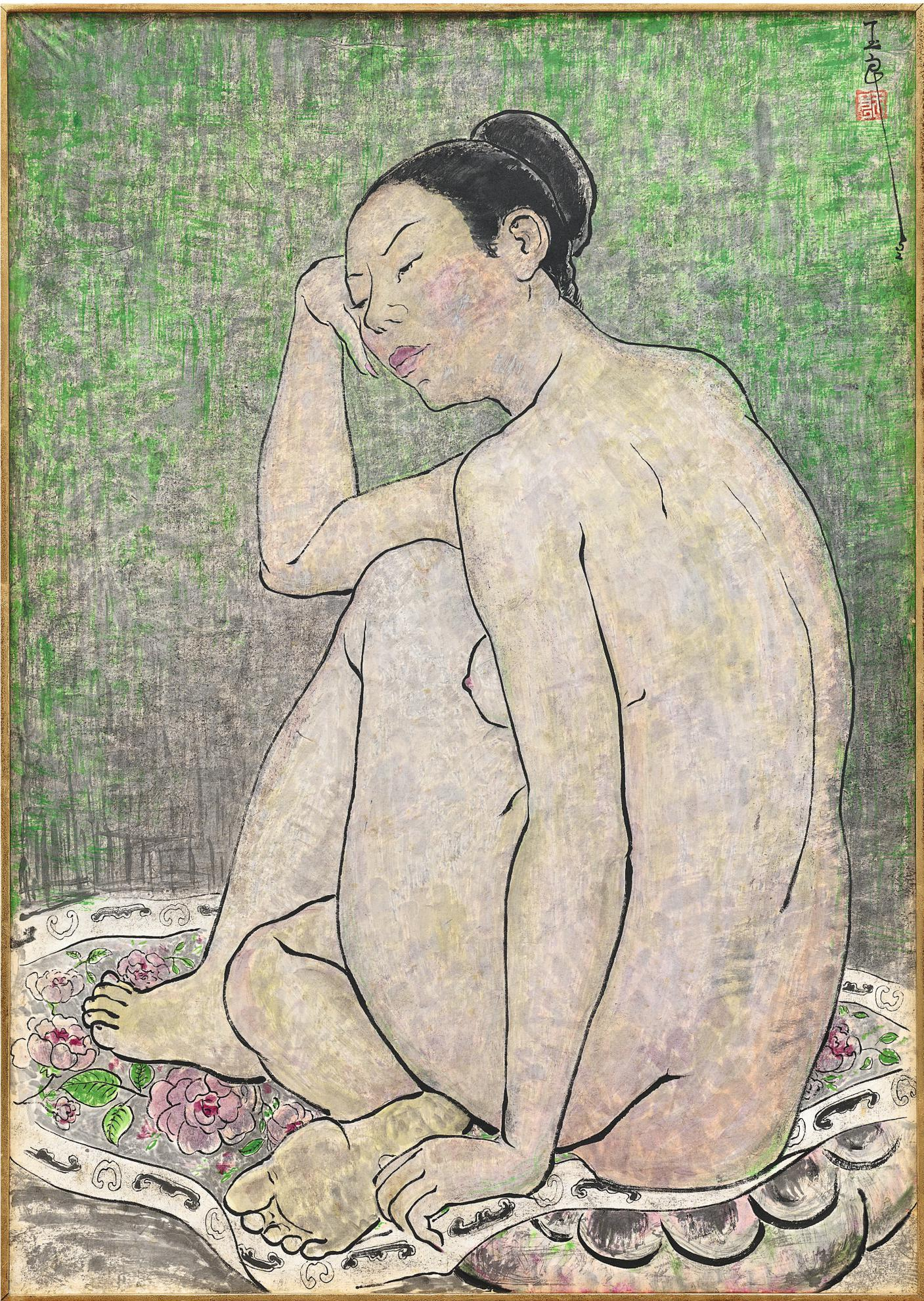 Pan Yuliang-Nude-1952