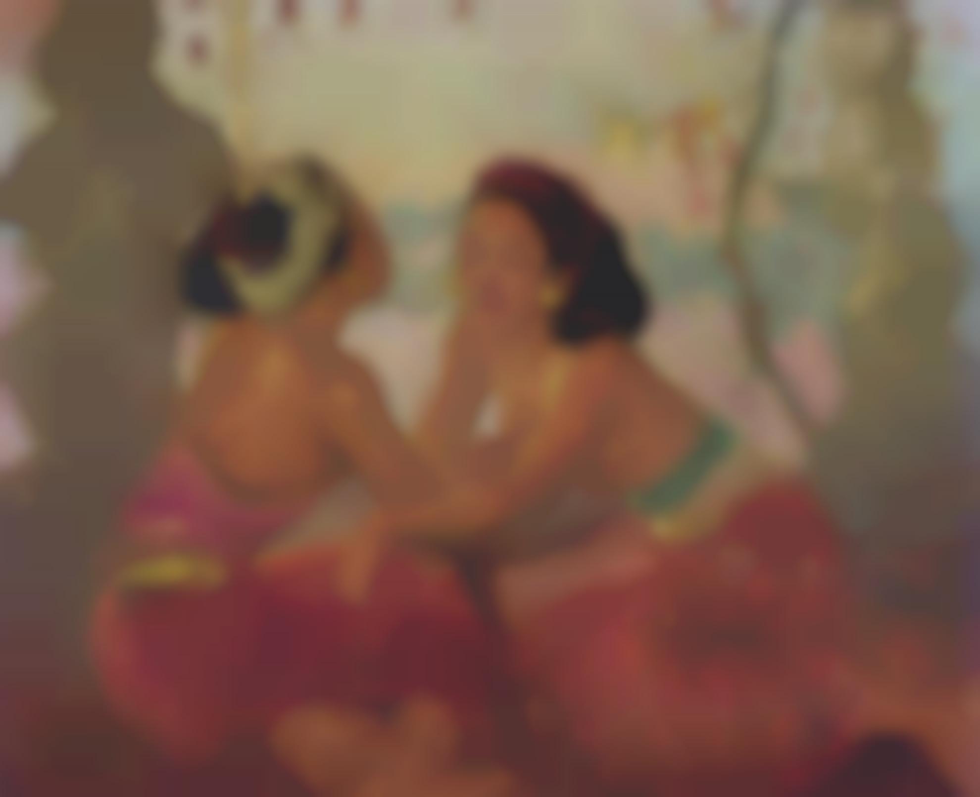Adrien Jean Le Mayeur De Merpres-Renang And Ni Pollok-