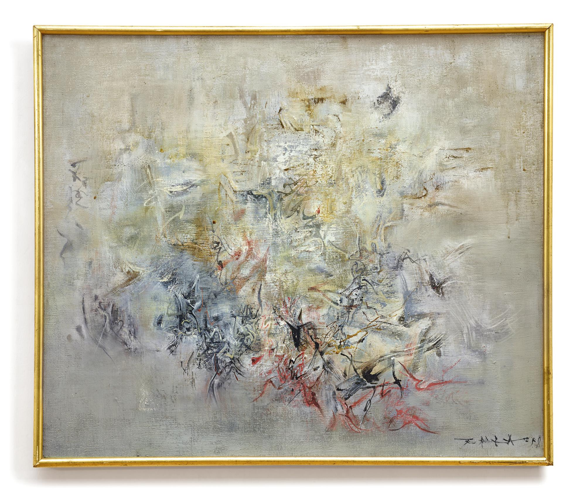 Zao Wou-Ki-Sans Titre-1958