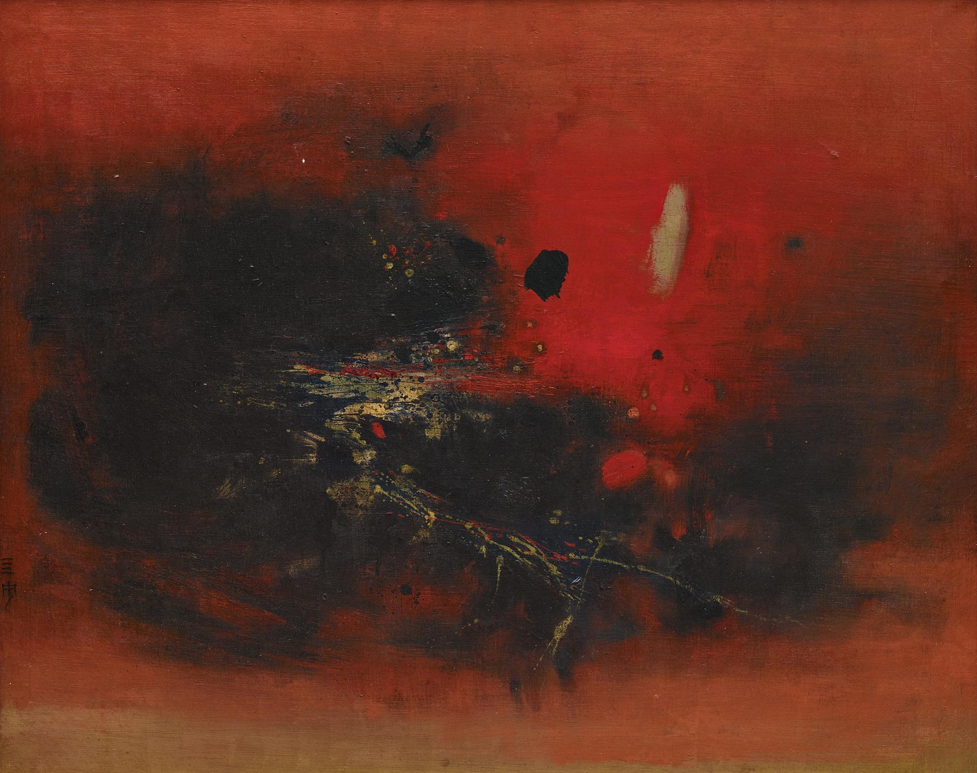 Cheong Soo Pieng-Nature-1963
