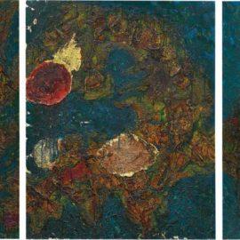 Toshimitsu Imai-Rising Sun (Five Panels)-1961