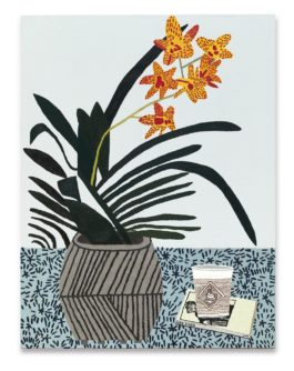 Jonas Wood-Yellow Orchid With Cup And Book-2013