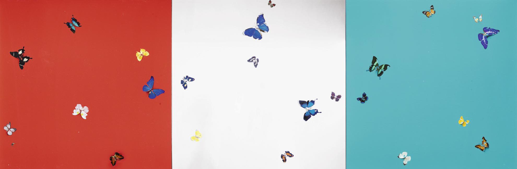Damien Hirst-Love, Money, Mexico (In Three Parts)-2008