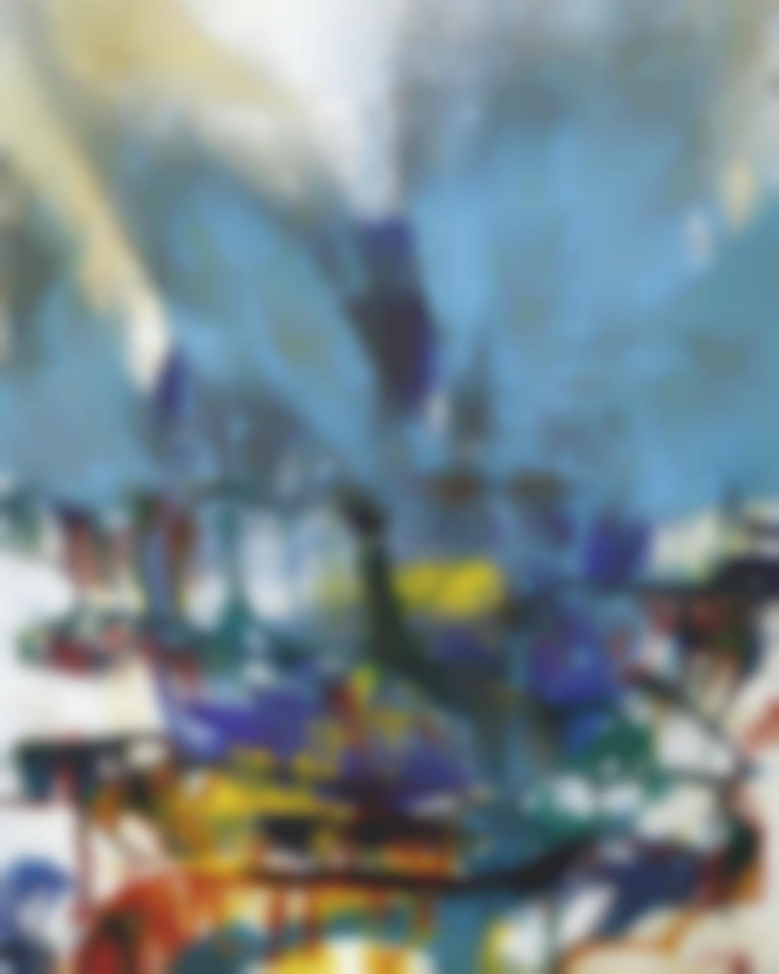 Shozo Shimamoto-Untitled - Bottle Crash-1962