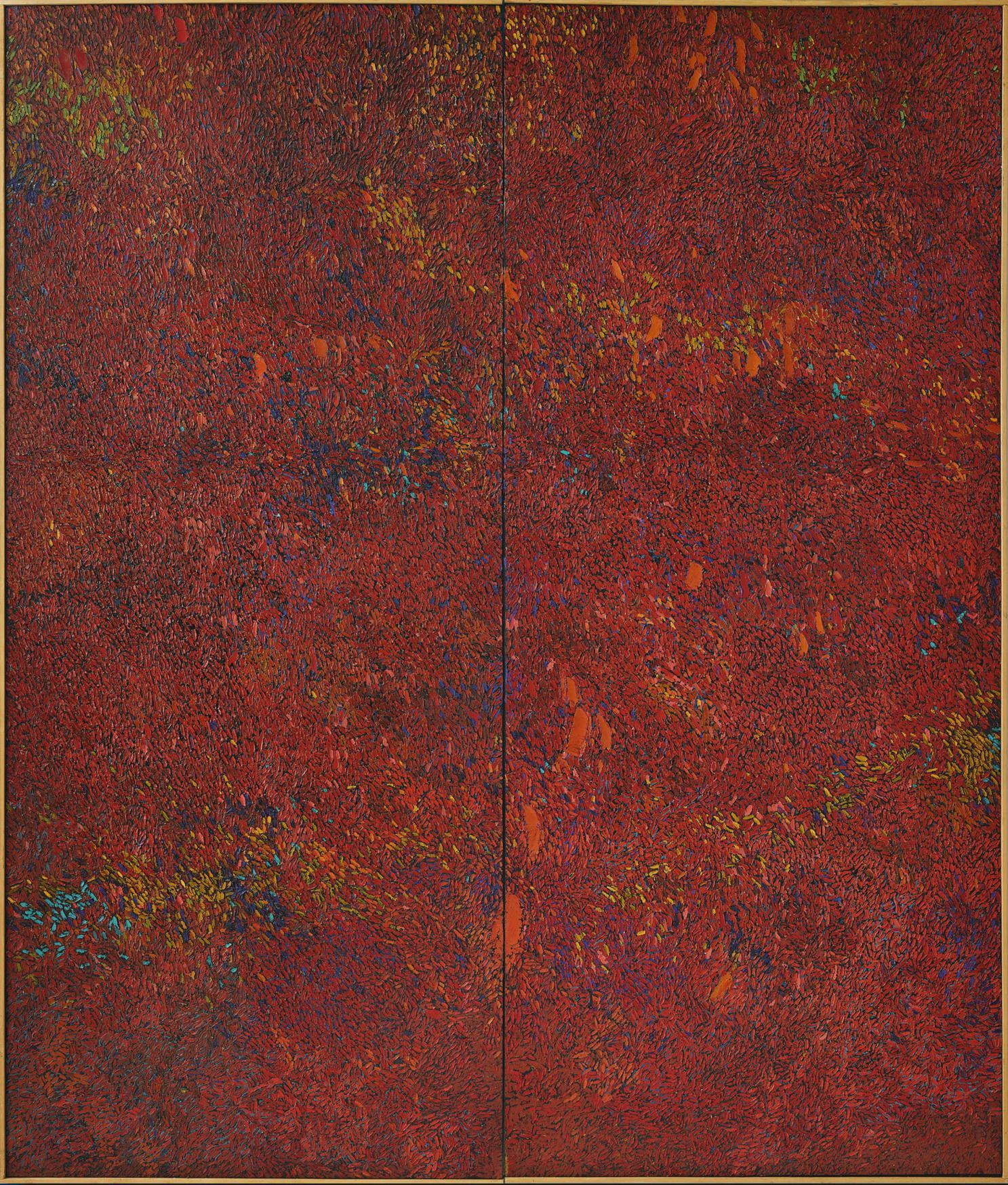 Chiyu Uemae-Work (Diptych)-1964