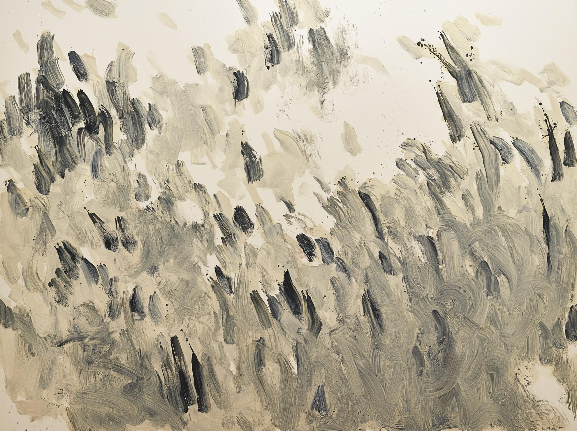 Lee Ufan-With Winds-1988