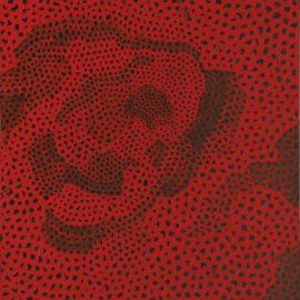 Yayoi Kusama-Red-Nets No. 2.A.3.-1960