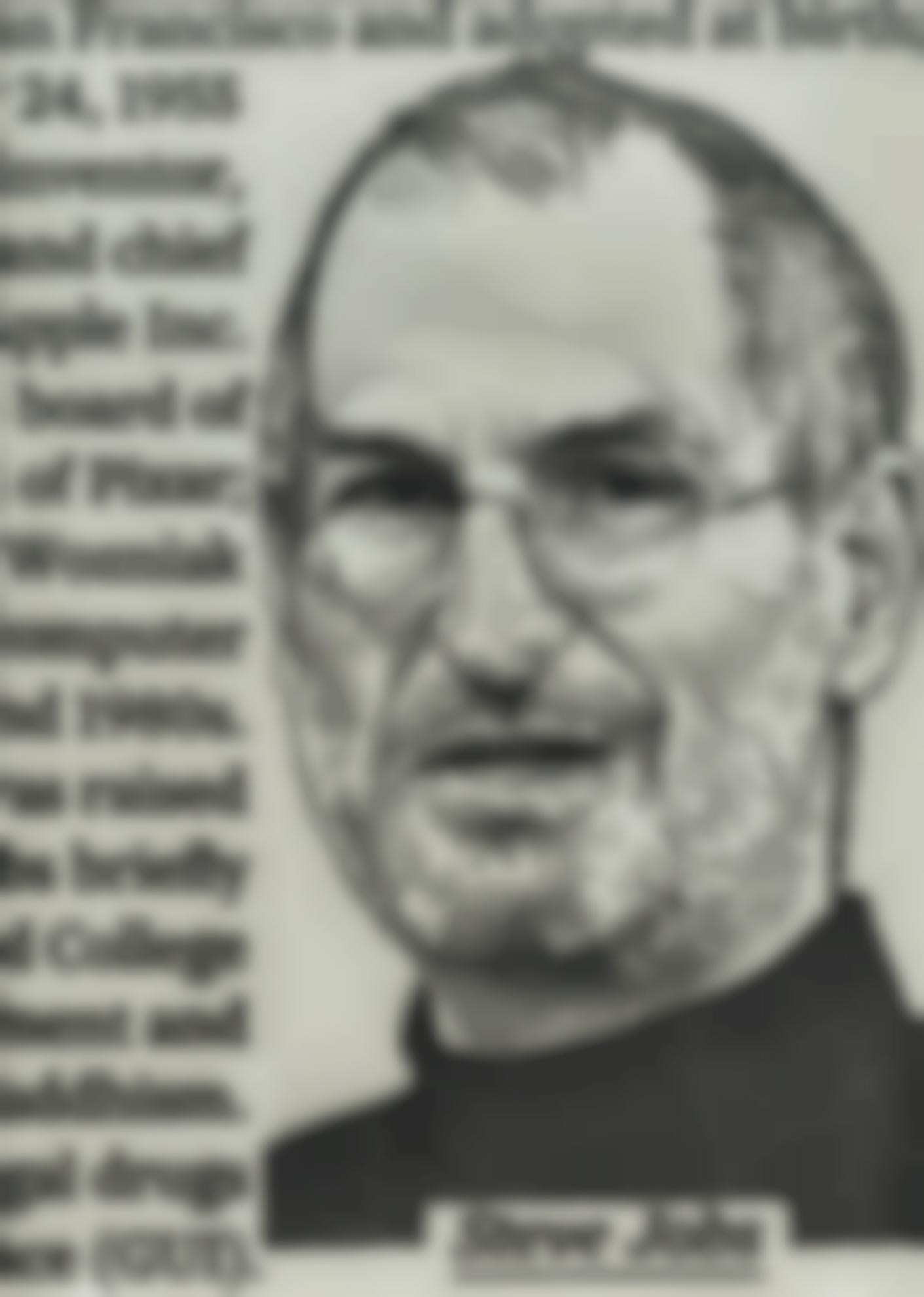 Jose Maria Cano-Ws100 - Steve Jobs II-2016