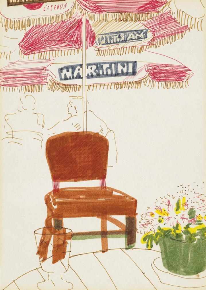 David Hockney-Laperitif-