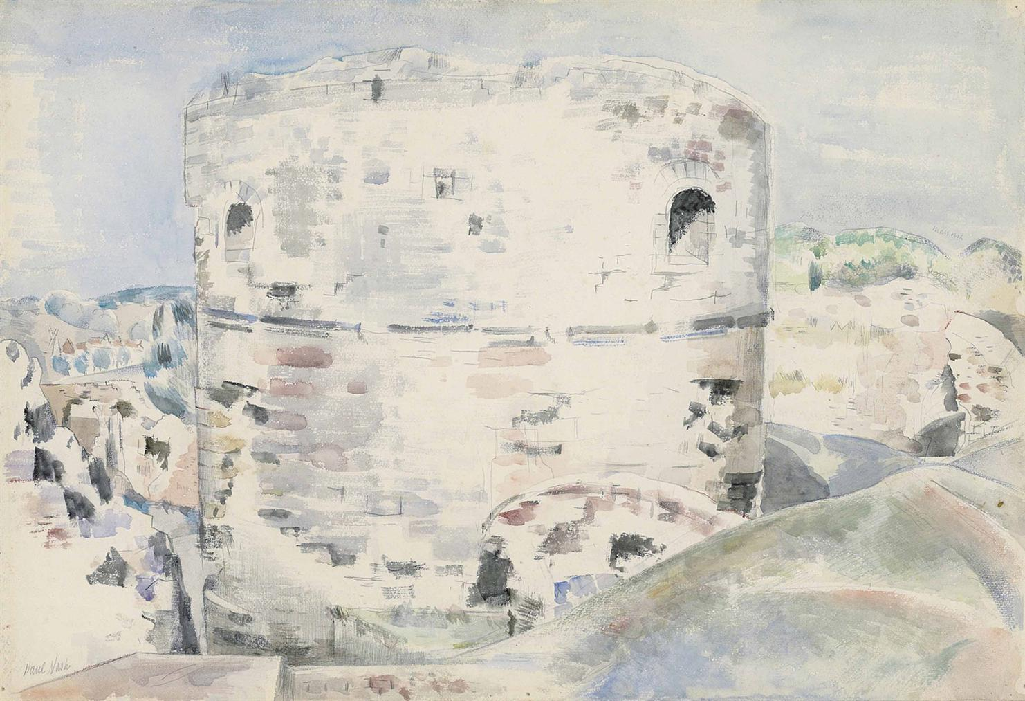 Paul Nash-Camber Castle-1924
