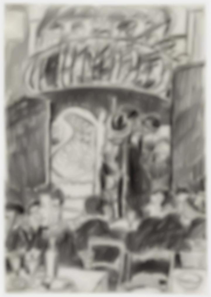 Cedric Morris-Cafe Scene-1921
