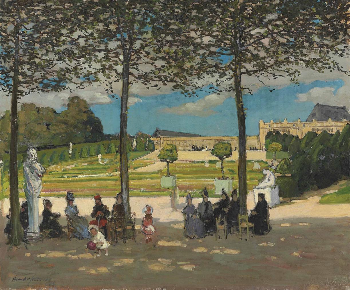 Alexander Jamieson R.O.I. - Versailles-1906