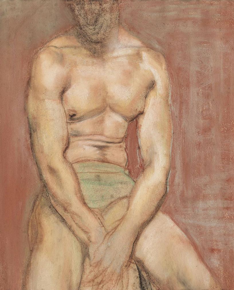 Austin Osman Spare-The Boxer-1953
