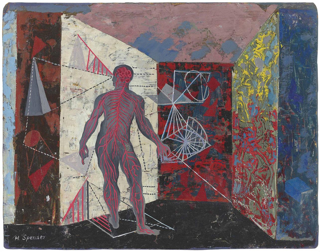 Humphrey Spender-Arterial Man-1940