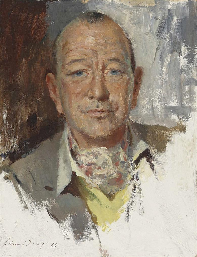 Edward Seago-Sir Noel Coward-1966