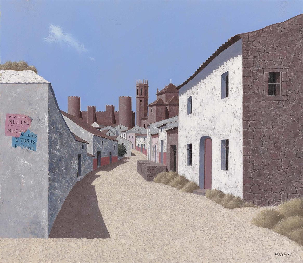 Tristram Hillier-The Entrance To Encina-1973